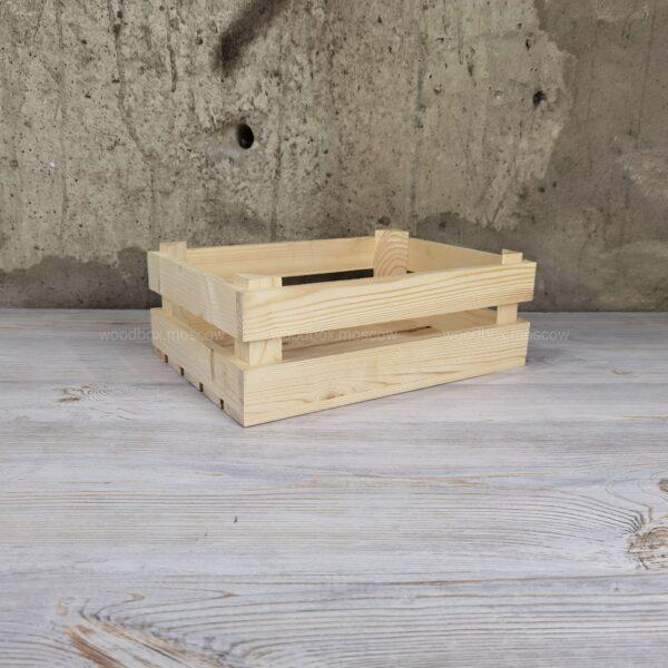реечный ящик из массива