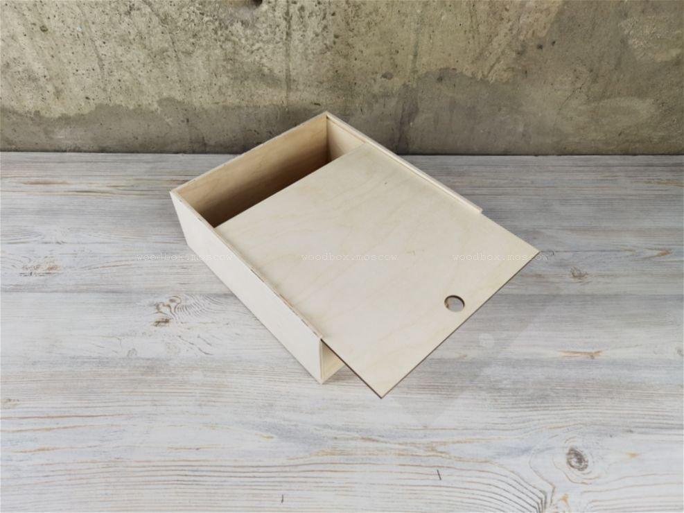 пенал деревянный для новогодних подарков