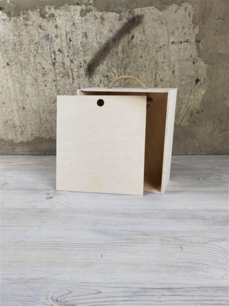 упаковка для подарка из дерева