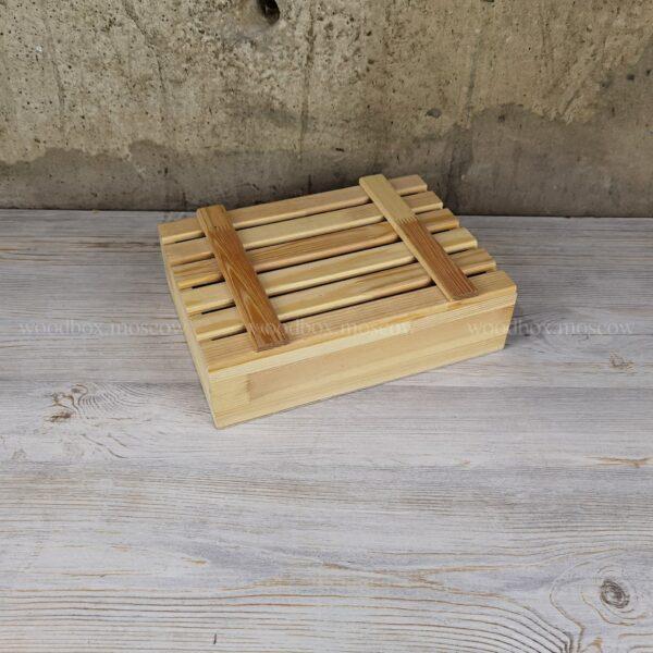 ящик с реечной крышкой