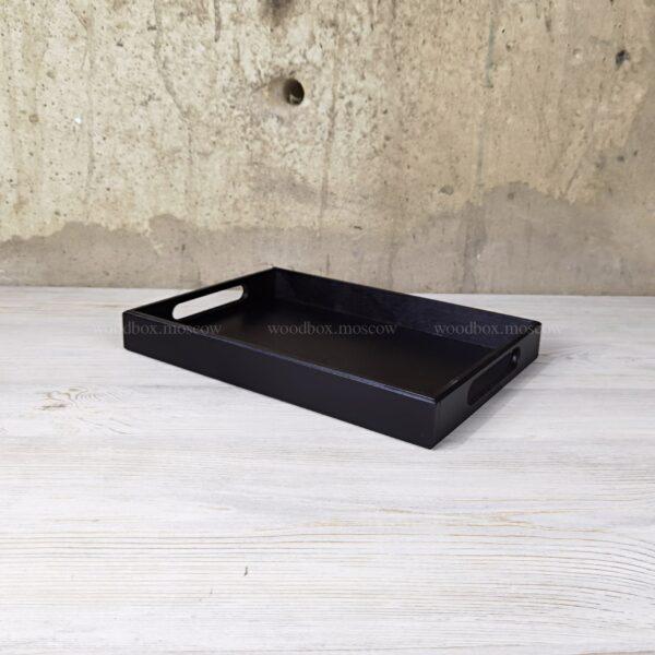 поднос с ручками деревянный